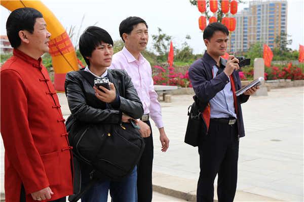 福建海峡之声广播电台莅临泉州文兴宫采访报道